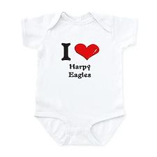 I love harpy eagles  Infant Bodysuit