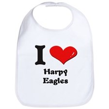 I love harpy eagles  Bib