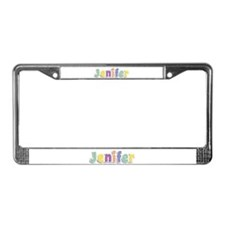 Jenifer Spring14 License Plate Frame