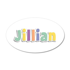 Jillian Spring14 20x12 Oval Wall Decal