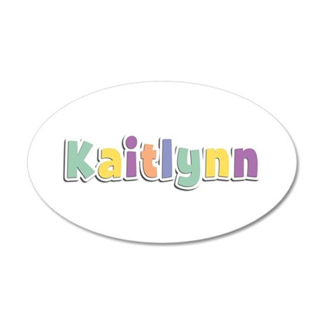 Kaitlynn Spring14 35x21 Oval Wall Decal