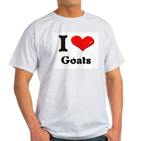 I love goats Light T-Shirt