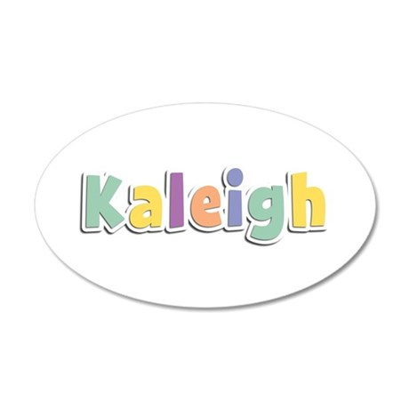 Kaleigh Spring14 35x21 Oval Wall Decal