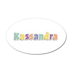 Kassandra Spring14 35x21 Oval Wall Decal