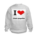 I love giant pangolins Sweatshirt