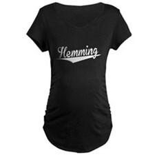 Hemming, Retro, Maternity T-Shirt