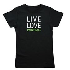 Live Love Paintball Girl's Tee