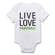 Live Love Paintball Infant Bodysuit