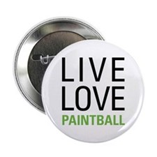 "Live Love Paintball 2.25"" Button"