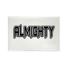 ALMIGHTY Rectangle Magnet (10 pack)