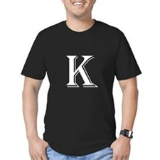 Fancy Letter K T-Shirt