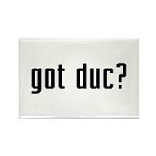 Got Duc? Rectangle Magnet