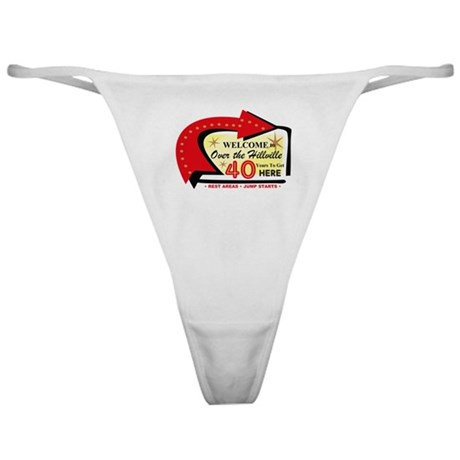 Over the Hillville 40 Classic Thong