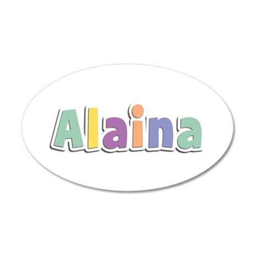 Alaina Spring14 35x21 Oval Wall Decal