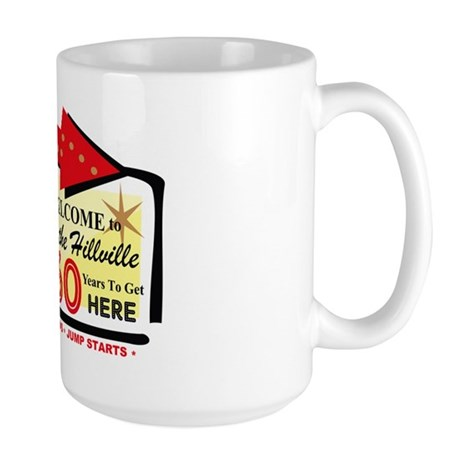 Over the Hillville 60 Large Mug