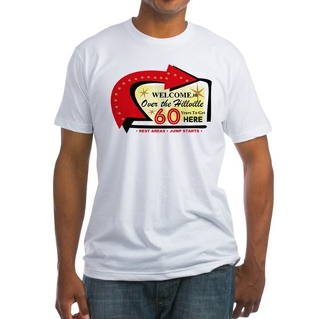 Over the Hillville 60 Fitted T-Shirt