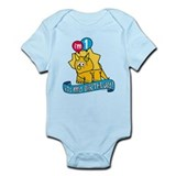 1st Birthday Dinosaur Infant Bodysuit