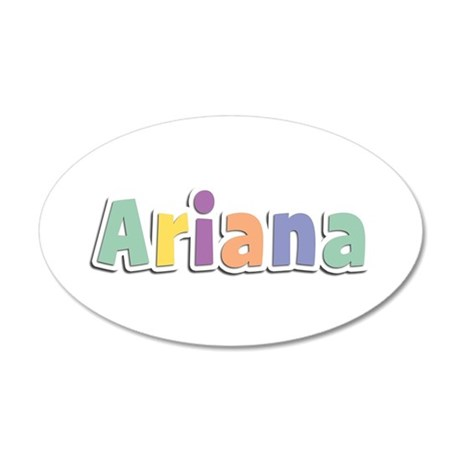 Ariana Spring14 35x21 Oval Wall Decal