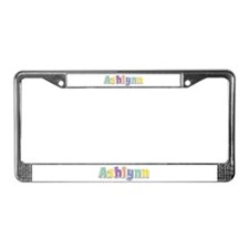 Ashlynn Spring14 License Plate Frame