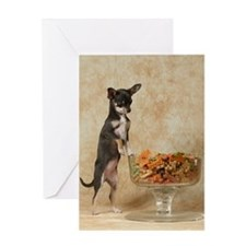 Unique Dog bone Greeting Card