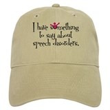 Speech Disorders Baseball Cap