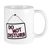 Do Not Disturb Sign Small Mugs