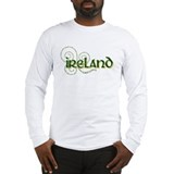 Cute Irish flag Long Sleeve T-Shirt