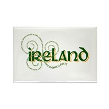 Cute Ireland Rectangle Magnet (10 pack)