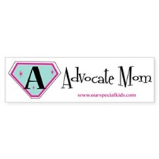 Advocate Mom Bumper Bumper Sticker