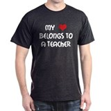 Heart Belongs to a Teacher T-Shirt
