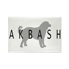 Akbash Rectangle Magnet