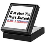 Blame a Democrat Keepsake Box