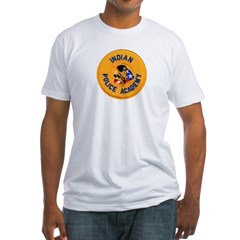 Indian Police Academy Fitted T-Shirt