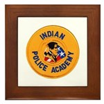Indian Police Academy Framed Tile