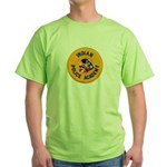 Indian Police Academy Green T-Shirt