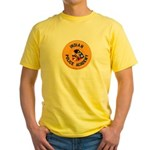 Indian Police Academy Yellow T-Shirt