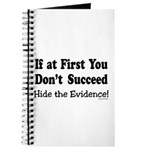 Hide the Evidence Journal