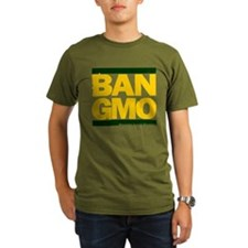 BAN-GMO black-red T-Shirt