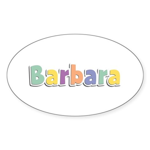 Barbara Spring14 Rectangle Decal