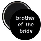 Brother of the Bride Black Magnet