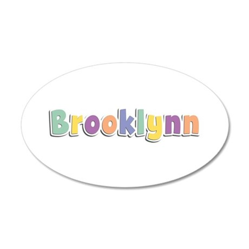 Brooklynn Spring14 35x21 Oval Wall Decal