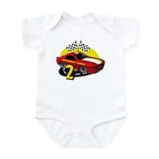 Race Car 2nd Birthday Infant Bodysuit