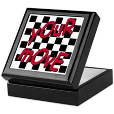 Your Move - Chess Board Keepsake Box