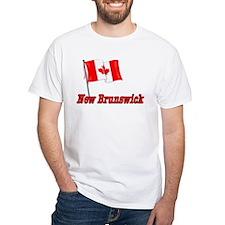 Canada Flag - New Brunswick Text Shirt