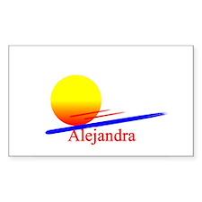 Alejandra Rectangle Decal