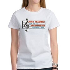 Music Teacher Tee