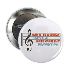 "Music Teacher 2.25"" Button (10 pack)"