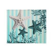 modern beach seashells starfish coral paris art Th
