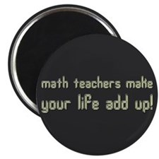 Math Teacher Magnet