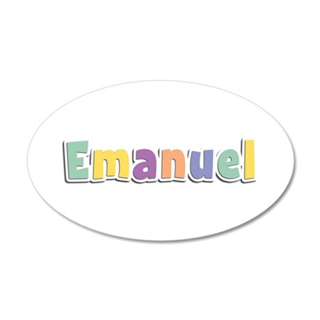 Emanuel Spring14 35x21 Oval Wall Decal